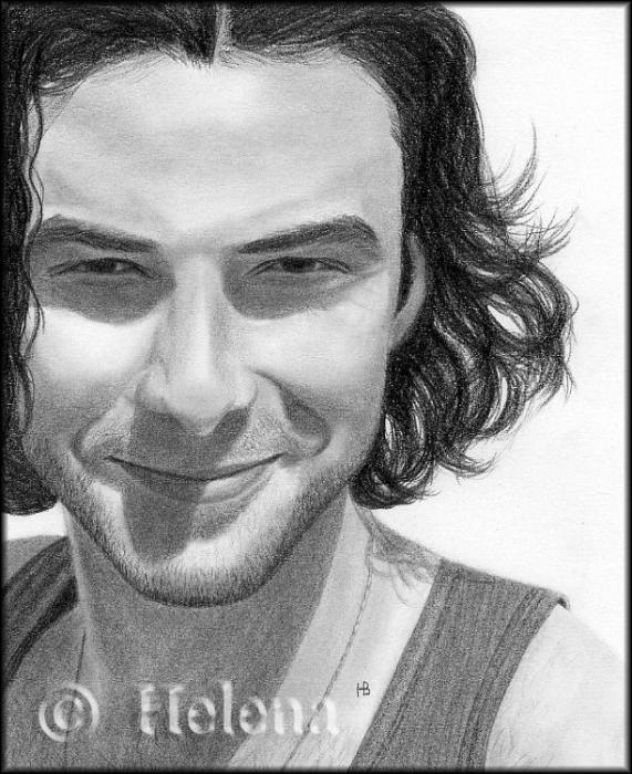 Aidan Turner by Helenadiva